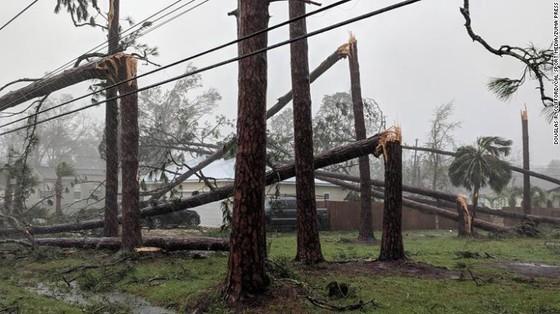 Siêu bão Michael tấn công Florida: 17 người chết, một căn cứ quân sự bị san bằng, cả thị trấn bị xóa sổ ảnh 45