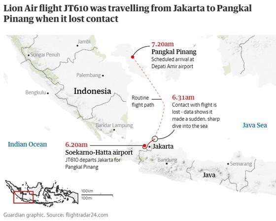 Vụ rơi máy bay tại Indonesia: Phát hiện sự cố chỉ 2 phút sau khi cất cánh  ảnh 16