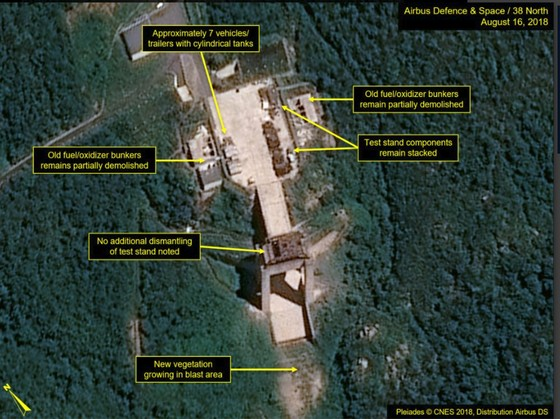 Trang 38 North: Triều Tiên không tiến hành dỡ bỏ thêm tại bãi thử tên lửa ảnh 2