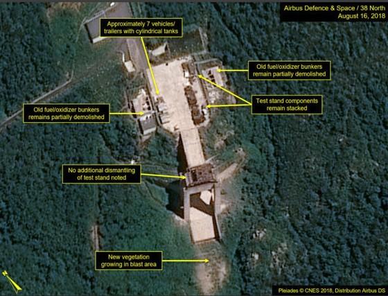 Trang 38 North: Triều Tiên không tiến hành dỡ bỏ thêm tại bãi thử tên lửa ảnh 3