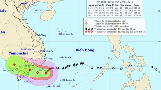 Bão số 9 sắp đổ bộ, Nhiệt điện Vĩnh Tân tạm dừng vận hành, từ chiều nay TPHCM sẽ mưa lớn ảnh 1