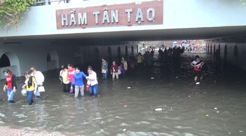 Chống ngập tại TPHCM: Có cống cũng như không ảnh 1