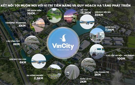 Vingroup chọn Gia Lâm phát triển dòng sản phẩm Vincity ảnh 1