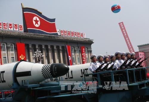 Mỹ - Nhật - Hàn thảo luận vấn đề hạt nhân Triều Tiên ảnh 1