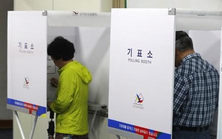 Công dân Hàn Quốc bắt đầu bỏ phiếu bầu Tổng thống ảnh 1