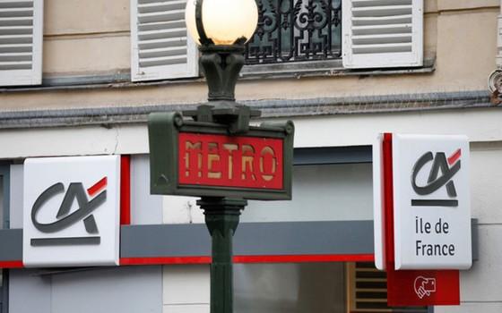 Với tổng giá trị tài sản 1.910 tỉ USD, ngân hàng Credit Agricole của Pháp xếp thứ 10 thế giới.