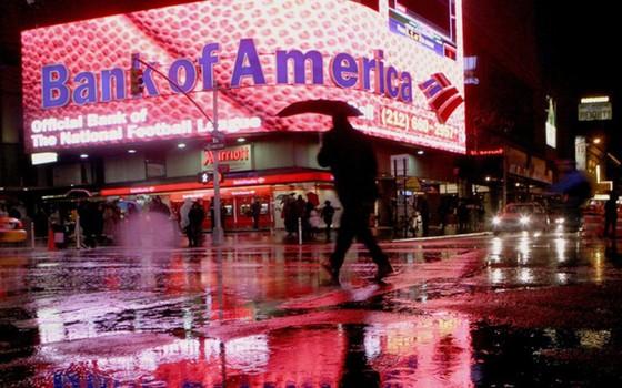 Vị trí thứ 9 thuộc về Ngân hàng Mỹ (BoA) với tổng giá trị tài sản 2.150 tỉ USD.