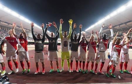 Monaco đã bắt đầu ăn mừng.