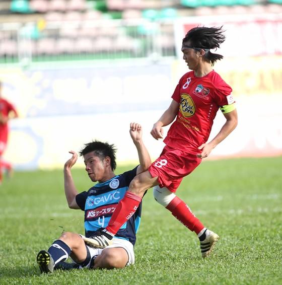 Tuấn Anh sẽ trở lại ở giai đoạn lượt về V-League 2017 với nhiều kỳ vọng của người hâm mộ phố Núi. Ảnh: T.L