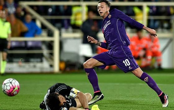 Federico Bernardeschi trong màu áo Fiorentina