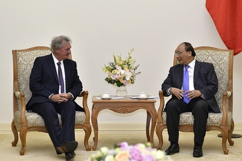 Thủ tướng đánh giá cao vị trí nhà đầu tư của Luxembourg tại Việt Nam  ảnh 1