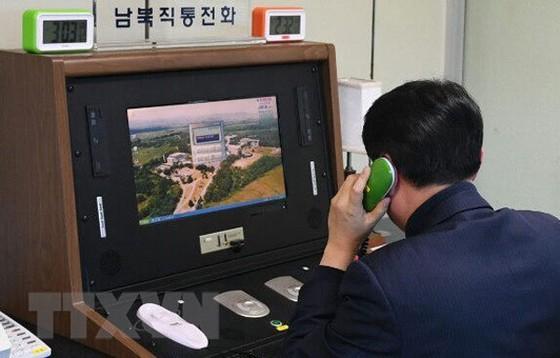 Hàn Quốc và Triều Tiên khôi phục hoàn toàn đường dây liên lạc quân sự  ảnh 1