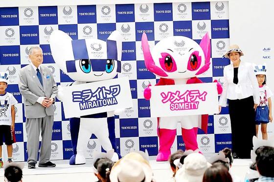 Nhật Bản ra mắt linh vật Olympic Tokyo 2020 ảnh 1