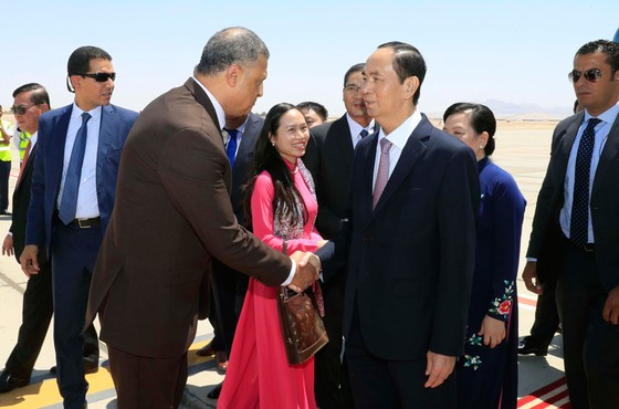 President Nguyen Minh Triet paid a visit to the state of Egypt: bringing the relationship between Vietnam and Egypt to a new level