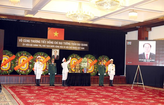 Tổ chức lễ Quốc tang đồng chí Chủ tịch nước Trần Đại Quang ảnh 17