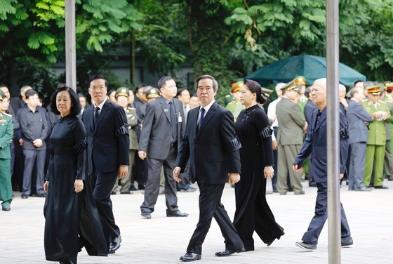 Tổ chức lễ Quốc tang đồng chí Chủ tịch nước Trần Đại Quang ảnh 5