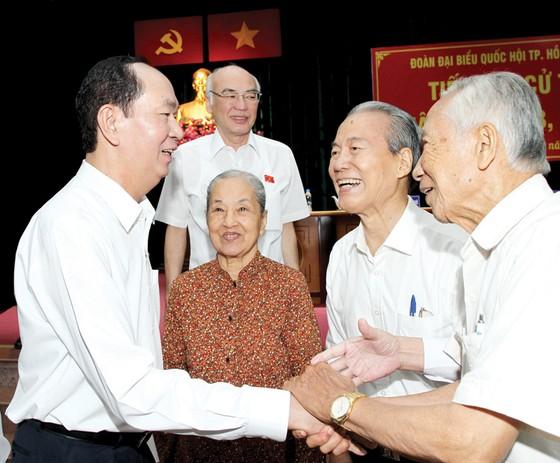 Chủ tịch nước Trần Đại Quang hoàn thành xuất sắc trọng trách của mình trước nhân dân ảnh 1