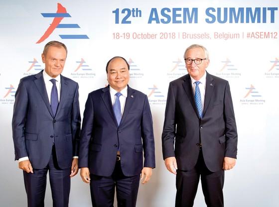 Hội nghị cấp cao ASEM lần thứ 12:  Ứng phó với các thách thức toàn cầu ảnh 1
