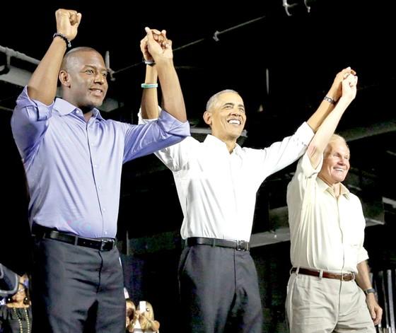 Nước Mỹ nóng với bầu cử giữa nhiệm kỳ ảnh 1