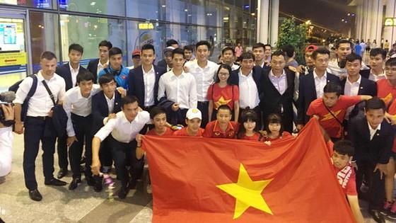 U20 Việt Nam về nước ảnh 1