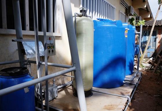 Nước sạch cho học sinh Trường Tiểu học Hương Mỹ 2 ảnh 1
