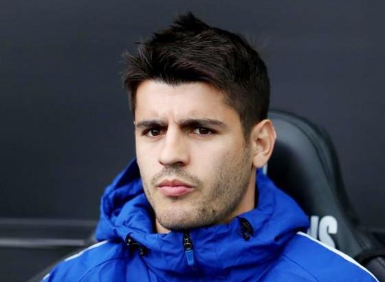 Tiền đạo Alvaro Morata không có tên trong danh sách tuyển Tây Ban Nha đến Nga.
