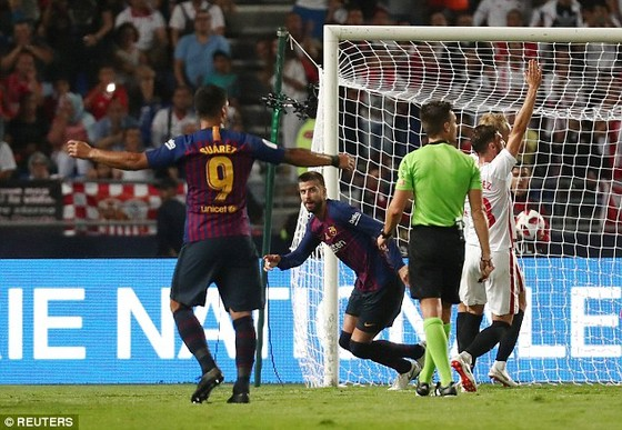 Barcelona nhọc nhằn giành Siêu cúp Tây Ban Nha 2018 ảnh 1