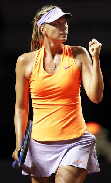 Maria Sharapova Quay lại bằng chiến thắng ảnh 1