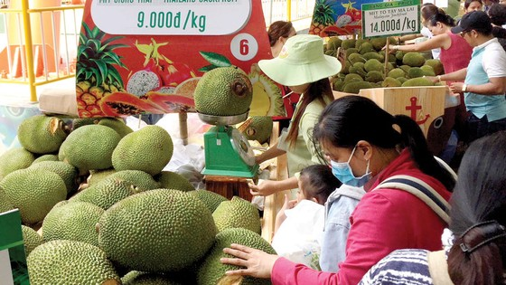Trái cây rộ từ siêu thị đến khu vui chơi ảnh 2