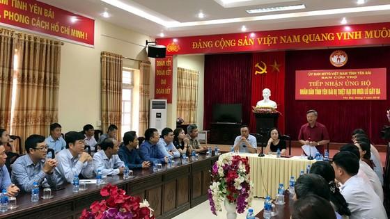 PV GAS ủng hộ 800 triệu đồng cho nhân dân Yên Bái  ảnh 1