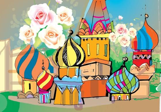 Chùm thơ về nước Nga  ảnh 1