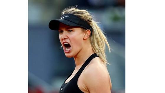 Eugenie Bouchard đã có tiến bộ rất nhiều về mặt tinh thần ở Mutua Madrid Open.