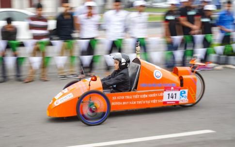 Động cơ 110 phân khối chạy được 1.867 km/lít xăng - ảnh 2