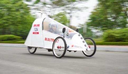 Động cơ 110 phân khối chạy được 1.867 km/lít xăng - ảnh 5