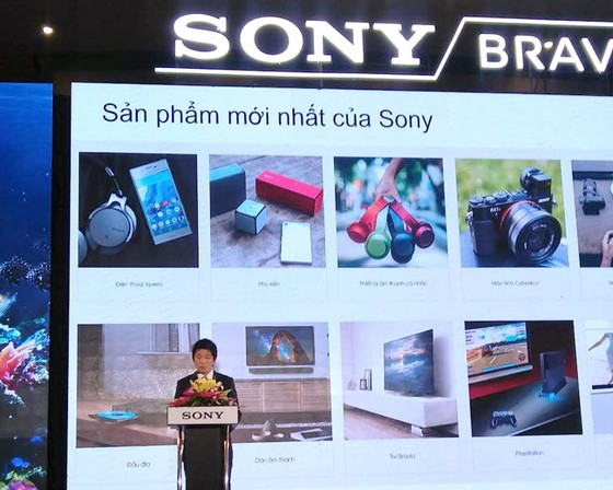 Sony ra mắt tivi 4K thế hệ mới HDR 2017 ảnh 1