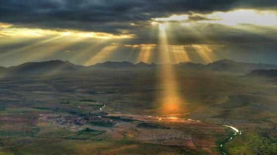 Những nơi bình minh như cõi mộng của hành tinh chúng ta