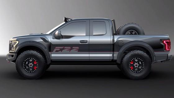 Ford F150 Raptor lay cam hung tu sieu may bay tang hinh F-22 hinh anh 3