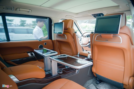 SUV hang sang Range Rover Hybrid gia hon chuc ty dau tien tai VN hinh anh 7