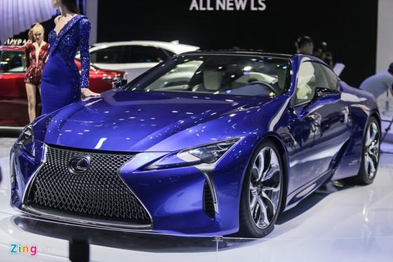 Lexus LC 500h: Coupe hang sang cho dai gia Viet hinh anh 1