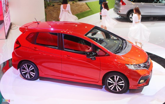 Honda Jazz - doi thu cua Toyota Yaris ra mat o Viet Nam hinh anh 3