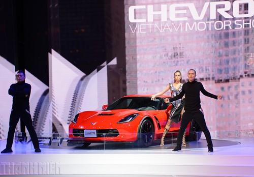 'Gã cơ bắp' Chevrolet Corvette Grand Sport khuấy động Vietnam Motor Show 2017 - ảnh 4