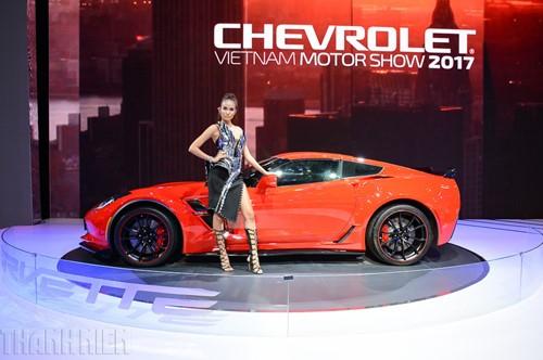 'Gã cơ bắp' Chevrolet Corvette Grand Sport khuấy động Vietnam Motor Show 2017 - ảnh 3