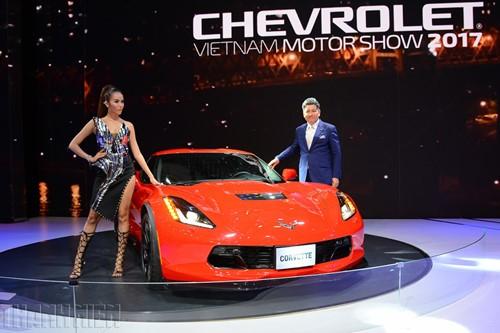 'Gã cơ bắp' Chevrolet Corvette Grand Sport khuấy động Vietnam Motor Show 2017 - ảnh 2