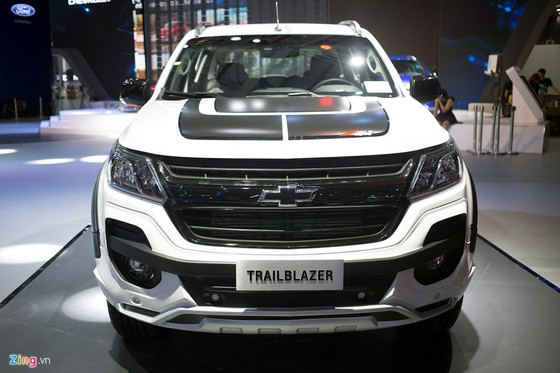 Chevrolet Trailblazer - doi thu Toyota Fortuner ra mat o Viet Nam hinh anh 1