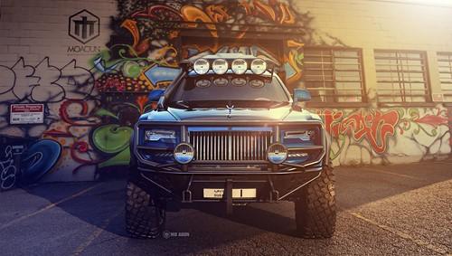 Bất ngờ với Rolls-Royce Ghost mang ngoại hình chiến binh - ảnh 2