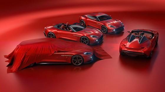 Aston Martin bo sung 2 phien ban Vanquish Zagato moi hinh anh 1