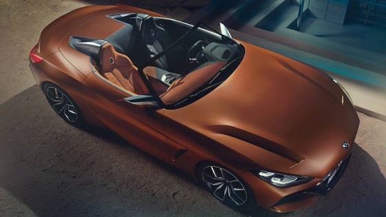 BMW Concept Z4 Roadster chinh thuc xuat hien hinh anh 5