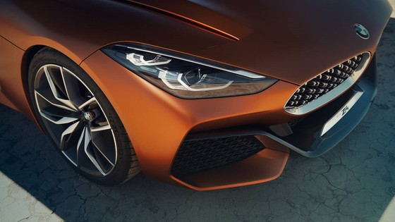 BMW Concept Z4 Roadster chinh thuc xuat hien hinh anh 3