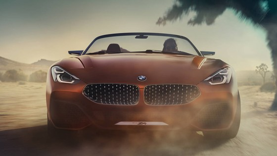 BMW Concept Z4 Roadster chinh thuc xuat hien hinh anh 7