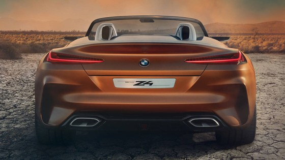 BMW Concept Z4 Roadster chinh thuc xuat hien hinh anh 4
